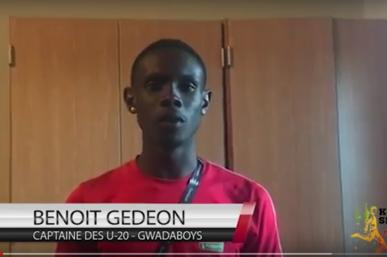 Benoît GEDEON, Le capitaine des Gwadaboys U-20