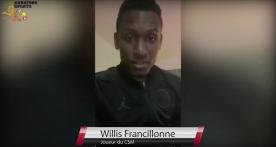 Les réactions de Willis Francillonne après la victoire...