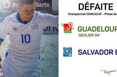Beach Soccer : El Salvador 8  - 1 Guadeloupe | Résumé en image