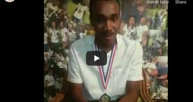 NANCY Thomas, le gardien de but champion de la R1 Guadeloupe