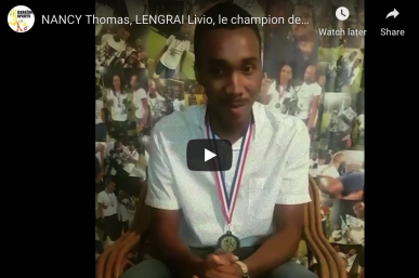 NANCY Thomas, le gardien de but champion de la R1 Guadeloupe