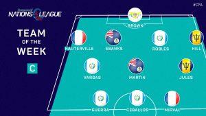 Hauterville, latéral guache dans l'équipe type de la CONCACAF