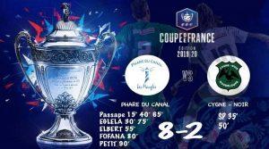 Résultat de la Coupe De France en LGF