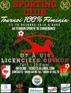 Sporting Club Tournoi 100% Féminin