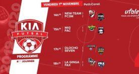 4e journée du Kia Futsal avec le